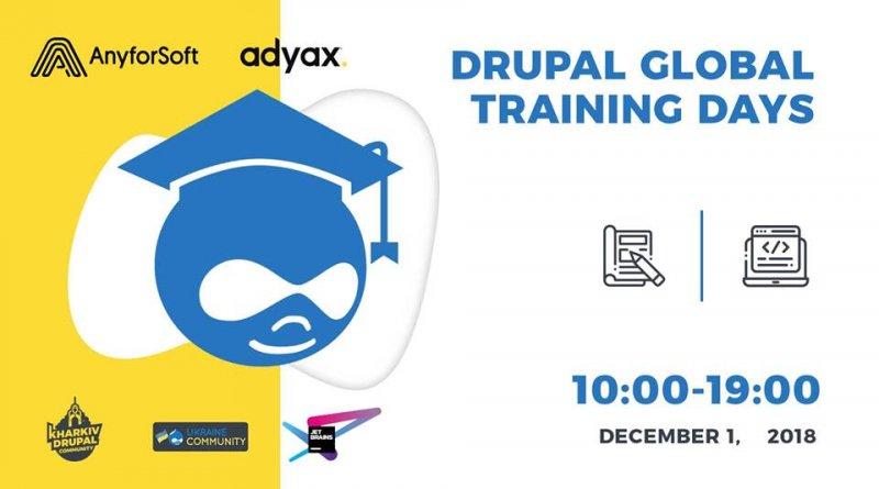Drupal Global Training Days