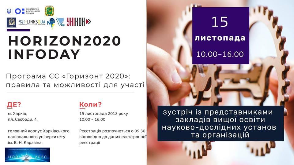 Іnfoday Horizon2020
