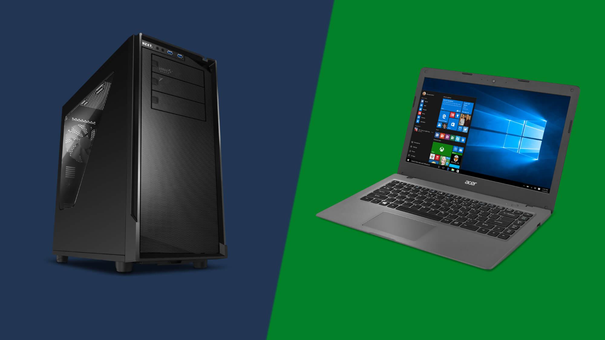 Ноутбук або настільний комп'ютер: що краще?
