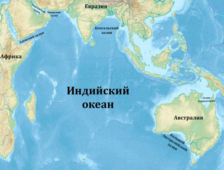 50 удивительных фактов об Индийском океане