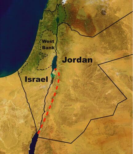 Иордания и Израиль сохранение Мертвого моря.